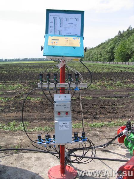 Контроллер системы капельного полива
