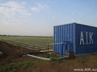 Головная установка АИК в контейнере